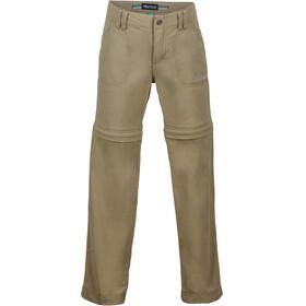Marmot Lobo Convertible Pants Girls Desert Khaki